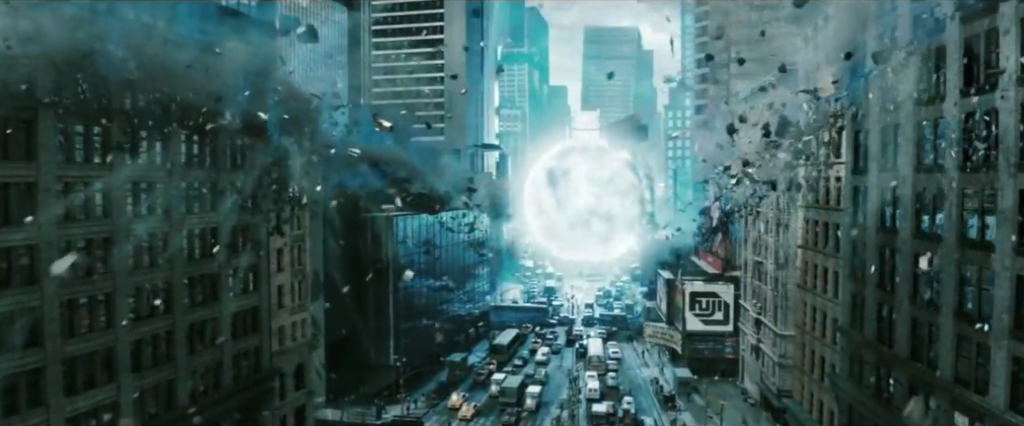 Watchmen fotogramma esplosione