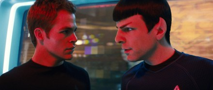 young Spock and Kirk