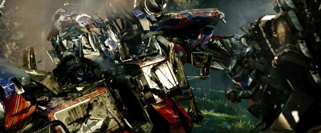 fotogramma Optimus Prime