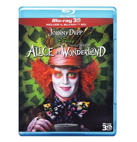 blu ray Alice in Wonderland 3D
