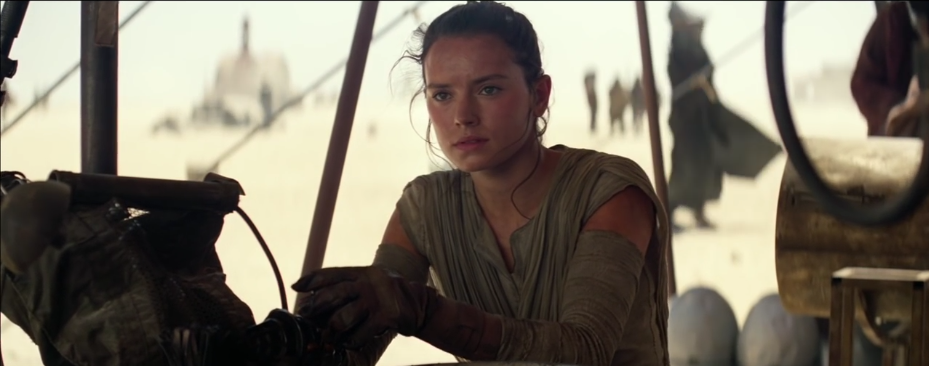 foto Rey in Star Wars