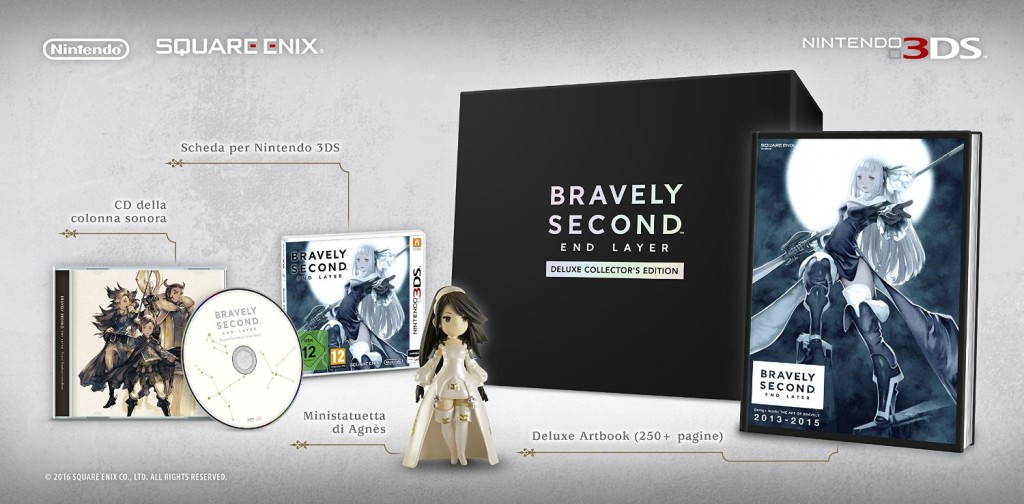 foto Collector's edition Bravely Second