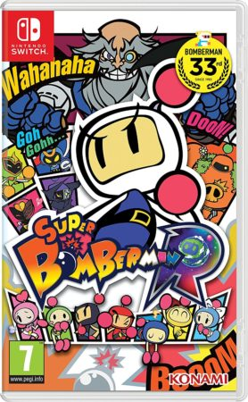foto confezione Bomberman R Switch