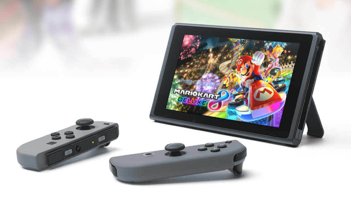 Nintendo Switch configurazione tavolo