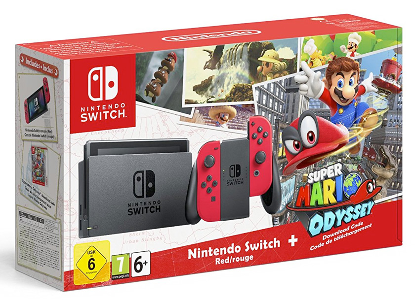 foto bundle Nintendo Switch + Super Mario